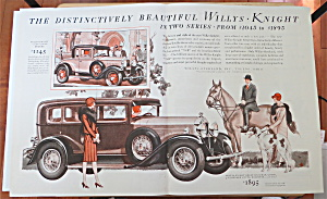 1929 Willys Knight With Willys Knight 70-b Coupe Deluxe
