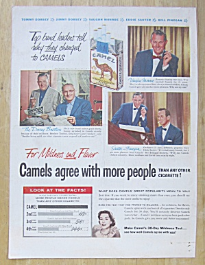 1953 Camel Cigarettes With Dorsey Brothers & More