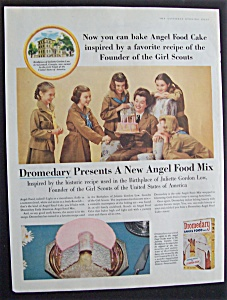 1956 Dromedary Angel Food Mix