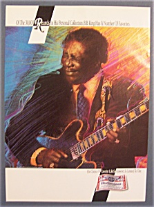 Vintage Ad: 1993 Budweiser Beer With B. B. King