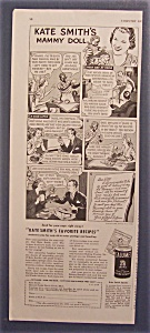 Vintage Ad: 1939 Calumet Baking Powder W/ Kate Smith