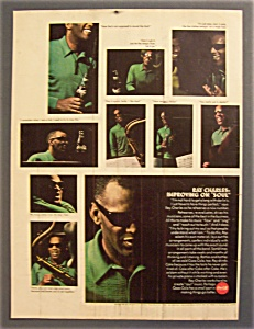 Vintage Ad: 1967 Coca - Cola With Ray Charles