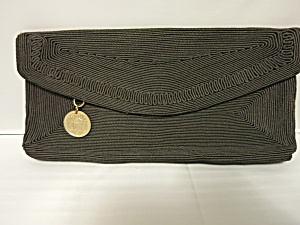 Genuine Corde Rayon Corded Clutch Purse