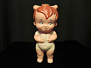 Pebbles Flintstone Doll Bottle By Purex Hanna Barbera