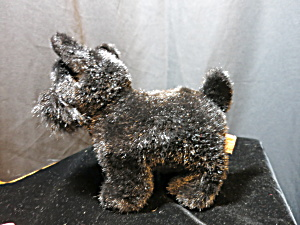 Russ Berrie & Co Inc Black Scottish Terrier Dog Shadow