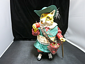 Clothtique Possible Dreams Fox Musketeer Hat Apples