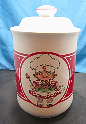 Vintage Campbell's Soup 1990 Chef Girl Cookie Jar