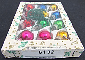 Western Germany Christmas Bulb Boxed Set 12 Ornaments