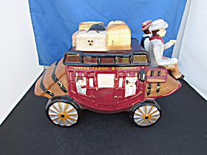 Wells Fargo Company 2010 Stage Coach Cookie Jar 2010