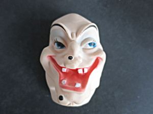 Vintage Witch Face Mask Doll Craft