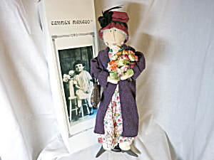 Carmen Manago Lady Of Wisdom Cloth Doll 23 Inch