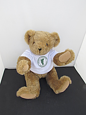 Vermont Teddy Bear With Vermont Marketplace T Shirt