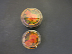 Vintage Celluloid Nesting Trinket Boxes Made In Japan