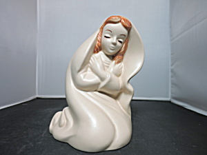 Hull Virgin Mary Madonna Planter 1960s Number 25