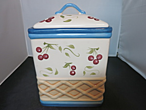 Cherry Inspirado Seattle Usa Stonelite Clay Cookie Jar