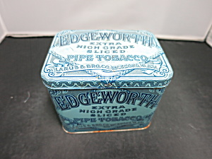 Edgeworth Extra High Grade Sliced Pipe Tobacco Tin