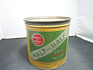 Half And Half Tobacco Tin American Tobacco Company