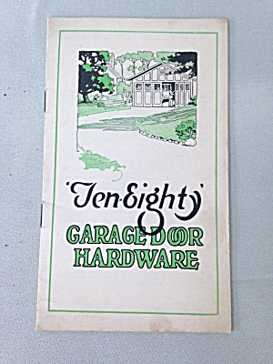 Ten-eighty Garage Door Hardware Booklet