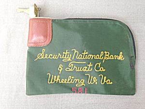 Security National Bank Wheeling Wv Bank Bag