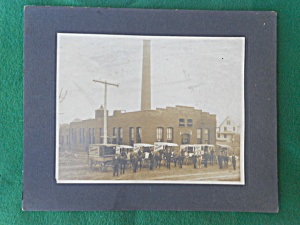 Early Employee Photo Troy Laundry Co. Ohio