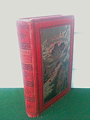A W Grube Alps Hiking German 1886 Book