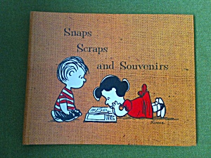 Charles Shulz Unused Peanuts Scrapbook 1967