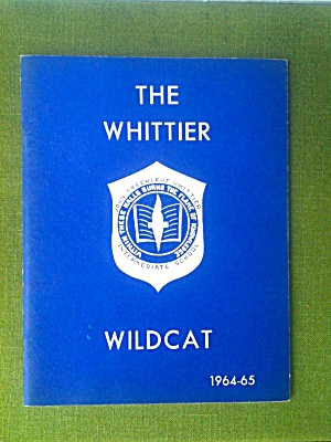 1964-65 Whitter School Annual Falls Church Va
