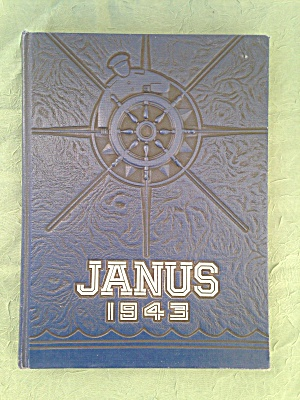 1943 Hazelton, Pa Janus High School Yearbook