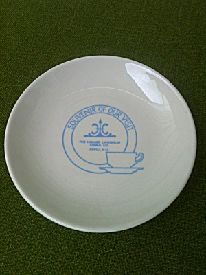 Homer Laughlin China Souvenir Plate