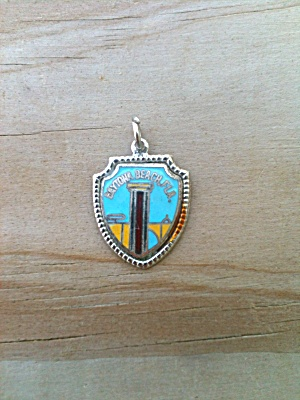 Sterling Daytona Beach Florida Charm/pendant