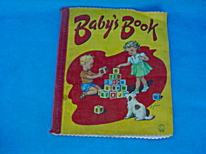 Early Cloth Book--baby's Book