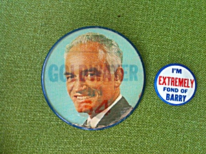 Barry Goldwater Political Buttons