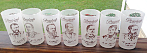 Presidents From State Of Ohio Glasses 1950's?