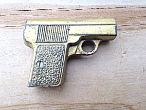 Vintage Handgun Pencil Sharpener