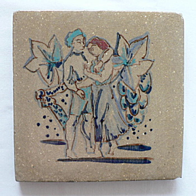 Rookwood Faience Hand Painted Tile