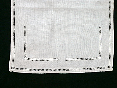 Vintage Linen Runners - Set Of 2