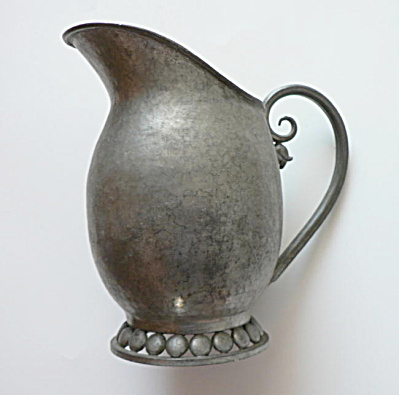 Nekrassoff Pewter Milk Pitcher