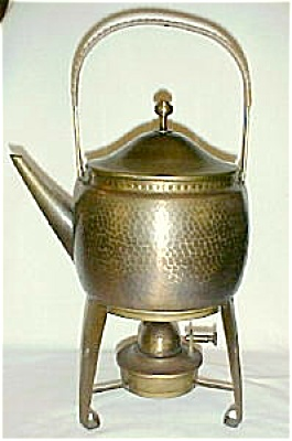 Wmf Hot Water Kettle On Stand With Lamp