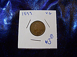 Indian Head Penny 1899 Vg
