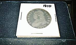 1810 Capped Bust Half Dollar (Rotated Reverse Die?)