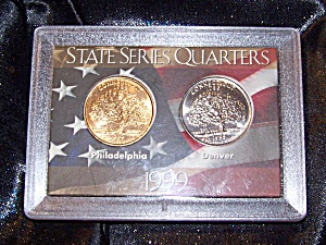 State Series Quarters 1999 Case Sealed.