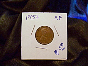 Lincoln Cent 1937 Xf