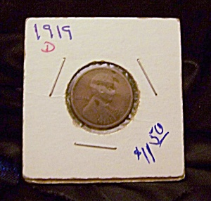 Lincoln Cent 1919 D