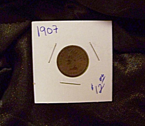 Indian Cent 1907