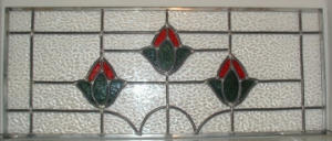 Victorian-style Leaded Glass Panel