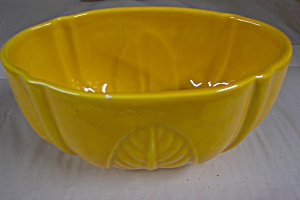 Yellow Haeger Planter