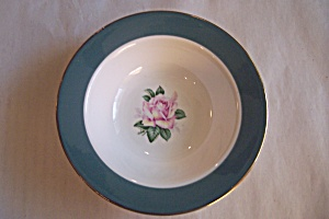 Lifetime China Cameo Rimmed Fruit/dessert Bowl