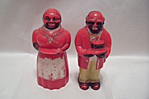 Aunt Jemima & Uncle Mose Salt & Pepper Shakers
