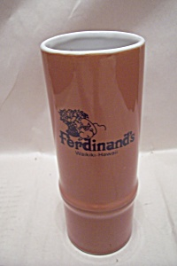 Fredinand's Of Waikiki Tall Drink Glass