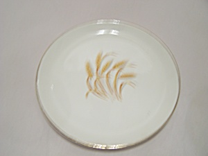 Homer Laughlin Golden Wheat Pattern Luncheon Plate